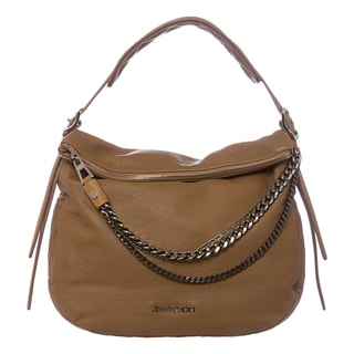 Jimmy Choo 'Boho' Small Buff Leather Shoulder Bag