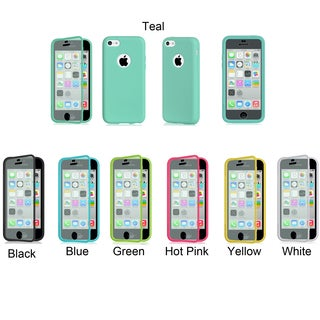 Universal Apple iPhone 5C Wrap Up Soft TPU Case with Built-in Screen Protector