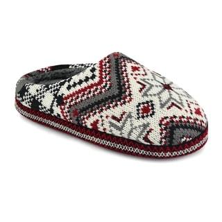 Muk Luks Women's Classic Pattern Scruff Slippers