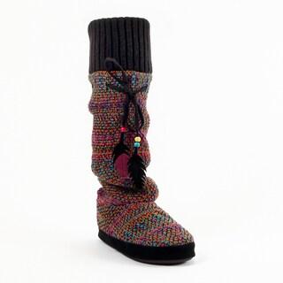 MUK LUKS Angie Reverse Multi Slipper Boots