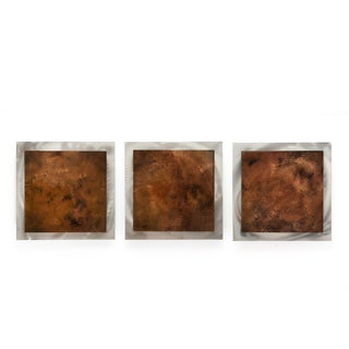 Belle 'Earth Essence' Layered Modern Metal Wall Art