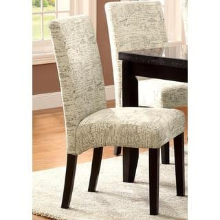Document Design Dining Chairs (Set of 2)