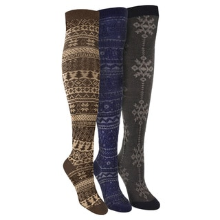 MUK LUKS 'Basic Pack' Over the Knee 3 Pair Pack