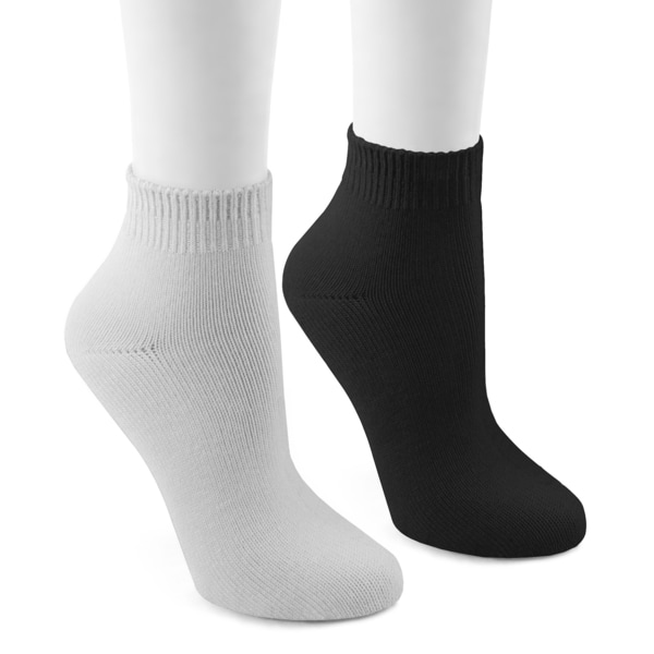 MUK LUKS Men's Athletic/No Show 4 Pair Sock Pack