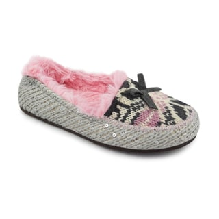 MUK LUKS Girl's Tobey Moccasin
