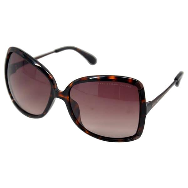Marc Jacobs Women's 'MMJ 217/S' Havana Brown Sunglasses