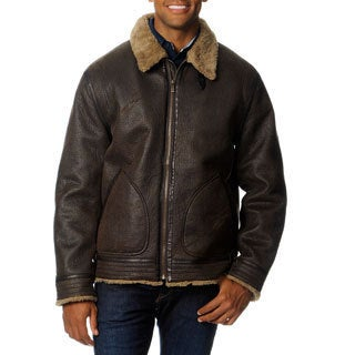 Chaps Men's Aviator 2 Bomber Jacket
