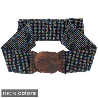 Glass Beaded Stretchy Belt (Indonesia)