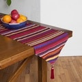 Handcrafted Multi-stripe Table Runner (Morocco)
