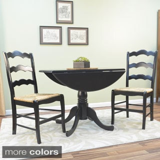 Antique Black Lyon Dining Set