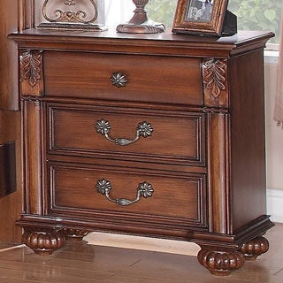 Berkley 3-drawer Nightstand