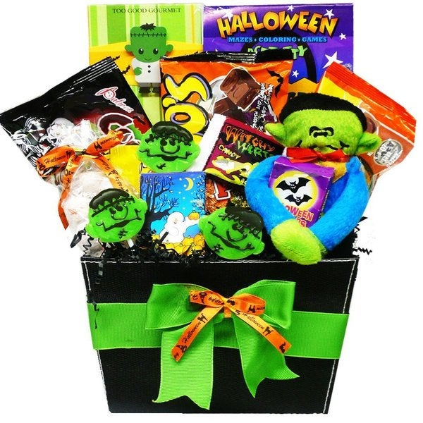 Monster Mash Halloween Candy/ Treats Gift Basket