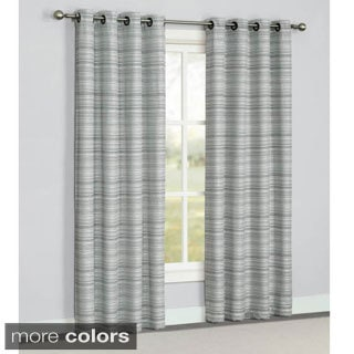 Corey 84-inch Grommet Top Curtain Panel Pair