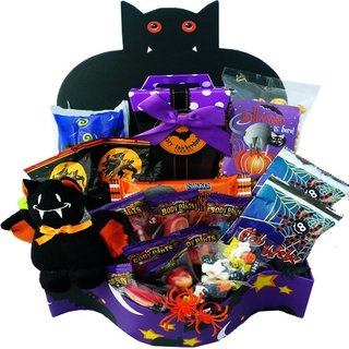 Bats About You Snacks/ Candy Treats Halloween Gift Box