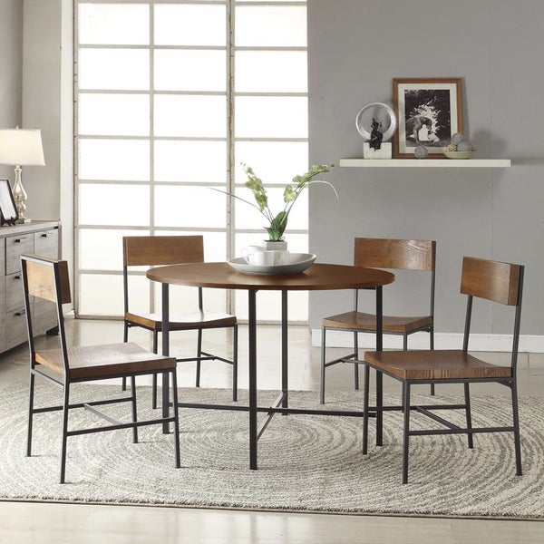 42 Inch Round Lakeland Dining Table Set 15737088