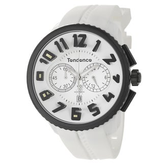Tendence Men's 'Gulliver' Stainless Steel Chronograph Watch