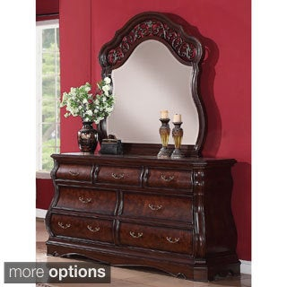 Toscana 7-drawer Dresser and Optional Mirror