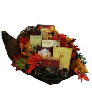 Cornucopia of Snacks/ Gourmet Food Thanksgiving Gift Basket