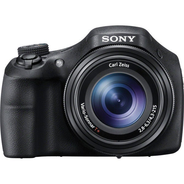 Sony Cyber Shot DSC-HX300 20.4MP Black Bridge Digital Camera