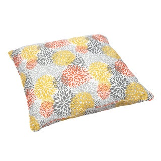 Tango Bloom Corded Outdoor/ Indoor Large 28-inch Floor Pillow