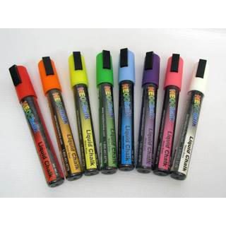 Neon Liquid Chalk Markers (Pack of 8)