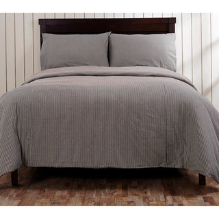 Cane Gingham Duvet Cover or Optional Sham