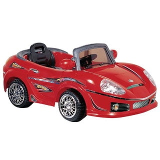 Best Ride On Cars Red Convertible