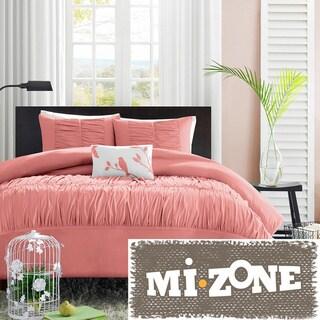 Mizone Lorena 4-piece Duvet Cover Set
