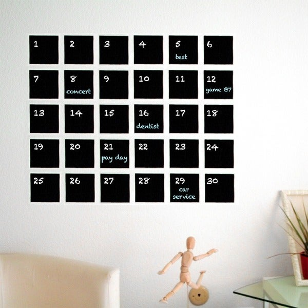 Crafter's DIY Chalkboard Decal