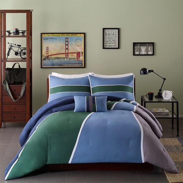 Mi Zone Curtis 4 Piece Comforter Set