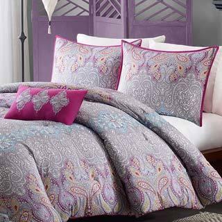 Mi Zone Torrance 4-piece Comforter Set
