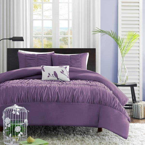 Mi Zone Ramona 4-piece Duvet Cover Set