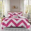 Mi Zone Virgo Reversible 4-piece Duvet Cover Set