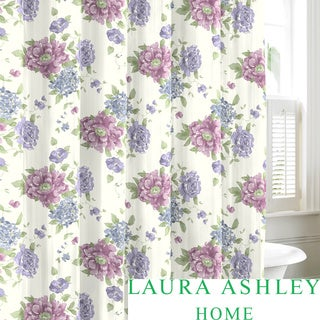 Laura Ashley Milner Cotton Shower Curtain