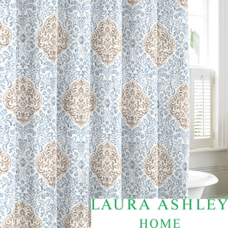 Laura Ashley Winchester Cotton Shower Curtain