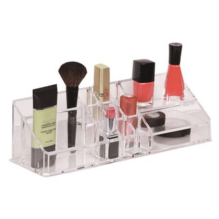 Richards Homewares Personal 15 Compartment Cosmetic Organizer (Clear)