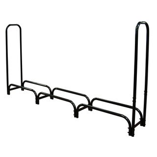 8-foot Heavy Duty Log Rack with Cover