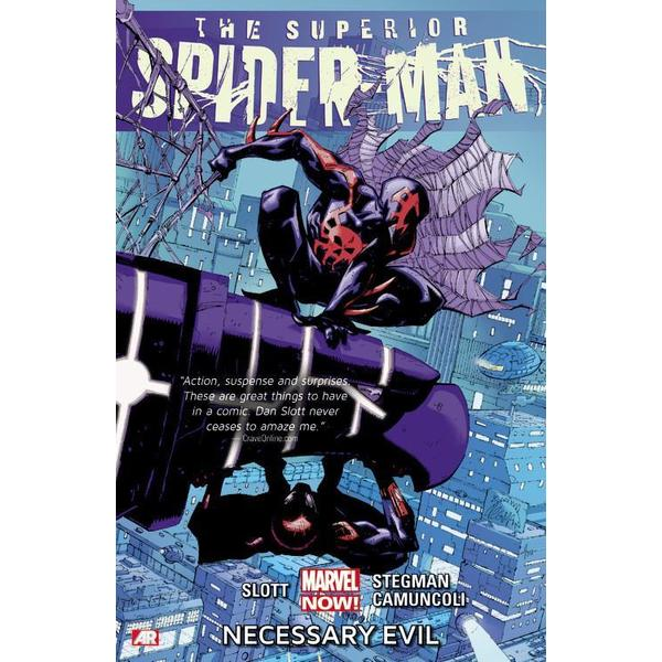 Superior Spider-Man 4: Necessary Evil (Marvel Now) (Paperback) 11868600
