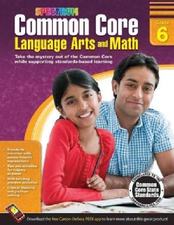 Common Core Math and Language Arts, Grade 6 (Paperback)