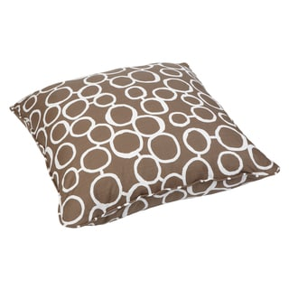 Lario Circles Corded Large 28-inch Floor Pillow