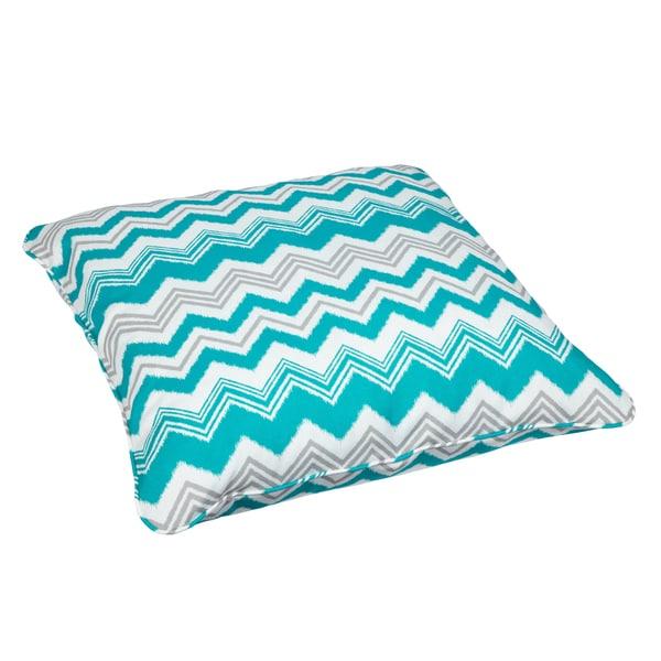 Tropic Zazzle Corded Outdoor/ Indoor Large 28-inch Floor Pillow