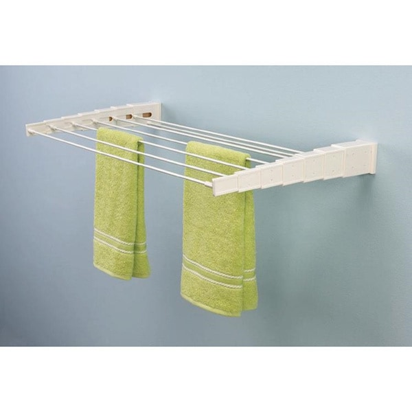 Telescoping Wall Mount Drying Rack