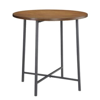 36-inch Round Lakeland Bar Table and Lakeland Counter Stool Set