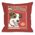 Jack Russell Roast Throw Pillow