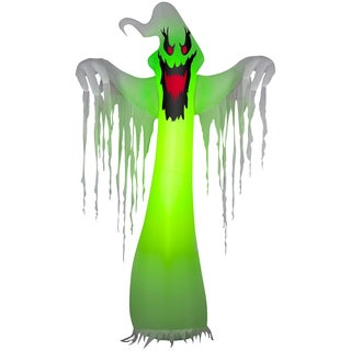 Halloween Airblown Inflatable Color Changing Ghost