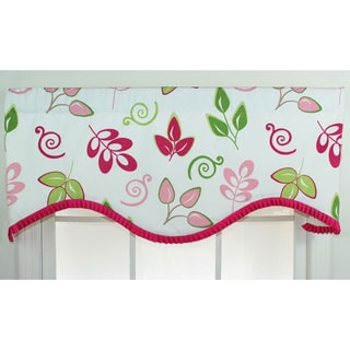 Gracious Leaves Cornice Window Valance