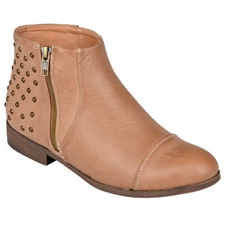 Madden Girl by Steve Madden Women's 'Dolo' Studded Ankle Boots