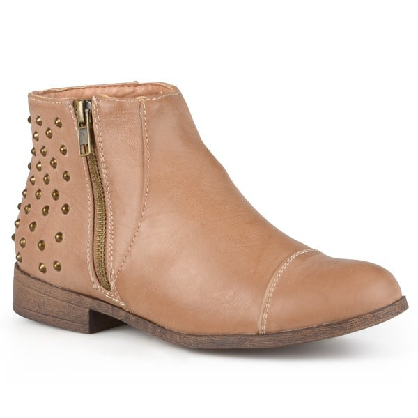 Madden Girl by Steve Madden Women's 'Dolo' Studded Ankle Booties
