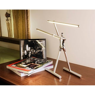 Silver 'Commitment' Desk Lamp