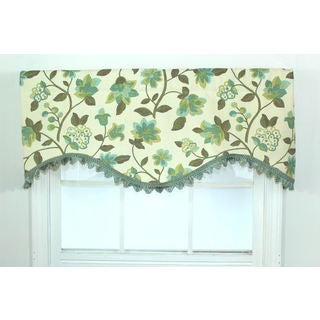 Harmony Spa Floral Cornice Window Valance